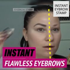 Adjustable Instant Eyebrow Stamp This upgraded Amazing Brow Stamp has an adjustable arch that will get your brows on point instantly! Stamp and you are good to go! Eyebrow Stamp, Eyebrow Makeup, Makeup Eyebrows, Eye Brows, Beauty Skin, Beauty Makeup, Face Beauty, Bad Eyebrows, Drawing Eyebrows