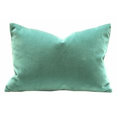 Pop color velvet pillow for a neutral colored rocking chair : )
