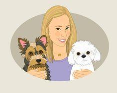 Personalized pet portrait. Pet portrait commission. #art #drawing @EtsyMktgTool http://etsy.me/2y9USDc #customportrait #personalized
