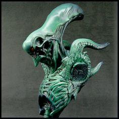 (BREED BED 001) Male Alien Unpainted Unpainted Grey Resin Original Kit | eBay Alien Queen, Alien Vs Predator, Figure Model, Model Kits, Science Fiction, Lion Sculpture, Resin, Handmade Items, Statue