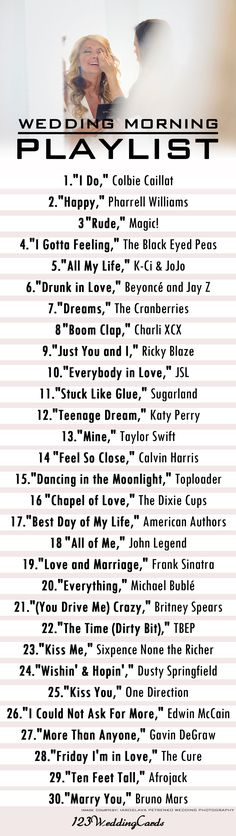 45 First Dance Songs For Every Getting Married Couple Wedding day pl. - 45 First Dance Songs For Every Getting Married Couple Wedding day play list for getting - Before Wedding, Wedding Tips, Wedding Couples, Fall Wedding, Dream Wedding, Casual Wedding, Budget Wedding, Wedding Reception, Wedding Photos