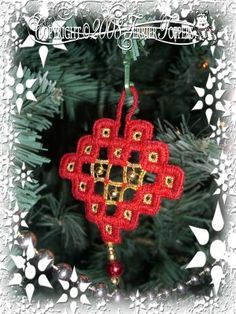 My Hardanger Christmas Decoration