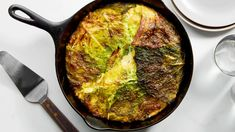 Cabbage Pie Deserves a Place on Your St. Patrick's Day Table   Epicurious Cheesy Mashed Potatoes, Skillet Potatoes, Cubed Potatoes, Making Mashed Potatoes, Cabbage Pie Recipe, Cabbage Recipes, Irish Recipes, Pie Recipes, Skillet Recipes