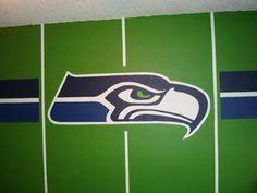 Seahawks Bedroom - wall - fathead?