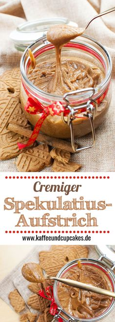 Best No Cost Makeup style cute Thoughts, Super cremiger Spekulatius-Aufstrich Good Food, Yummy Food, Tasty, Comida Diy, Cupcakes, Cookies Et Biscuits, Food Blogs, Food Gifts, Diy Food