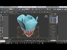 3d Artwork, Artwork Drawings, Drawing Faces, Cinema 4d, 3d Max Tutorial, Flower Model, 3d Video, Modeling Tips, Autodesk 3ds Max