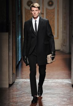 Janis Ancens for Valentino FW 2012 MILAN #attitudemodels