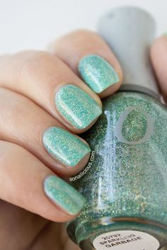 ORLY Sparkling Garbage - swatched by So Nailicious