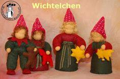 Blumenkinder-Werkstatt: Wichtel, Gnome