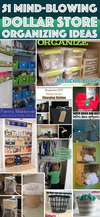 51 Mind-Blowing Dollar Store Organizing Ideas To Get Your Home A Complete Makeover – Cute DIY Projects 51 Mind-Blowing Dollar Store Organizing Ideas To Get Your Home A Complete Makeover Dollar Store Hacks, Astuces Dollar Store, Dollar Store Crafts, Dollar Stores, Dollar Store Bins, Organisation Hacks, Kitchen Organization, Dollar Store Organization, Kitchen Storage