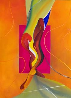 Modern figure paintings  – Dance