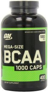 Optimum Nutrition BCAA 1000mg, 400 Capsules