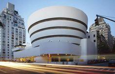 Guggenheim Museum em NY, projetado por Frank Lloyd Wright