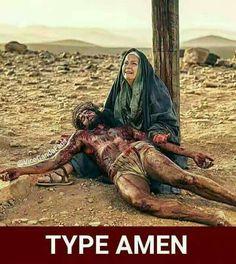 Amen is gone two Amen amen amun ammmunnnn Celebrations! Mary Jesus Mother, Mary And Jesus, Jesus Is Lord, Jesus Christ Images, Jesus Art, Jesus Sacrifice, Jesus Tattoo, Christ Quotes, Christian Artwork