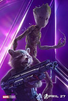 Vingadores: Guerra Infinita - Confira os novos cartazes do filme