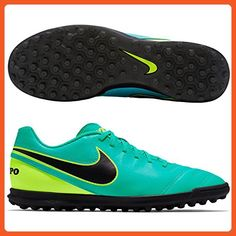 Men's Tiempo Rio III TF Astro Turf Trainers - Clear Jade - Athletic shoes for women (*Amazon Partner-Link)