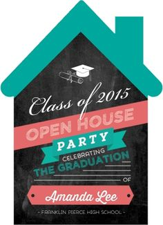 Graduation Open House Invitation Wording & Party Ideas