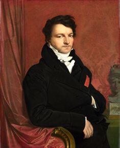 https://flic.kr/p/i9Fw2Y   Monsieur de Norvins   1811-1812. Oil on canvas, laid down on panel. 97,2 x 78,7 cm. National Gallery, London. 3291.