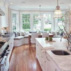 Kitchens... Hmmm mines a smaller version! ❤️