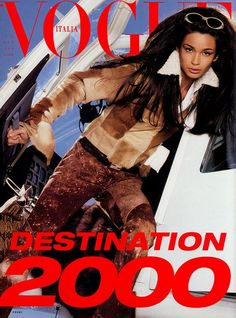 Carol Ribeiro: Portifólio: Editorial Vogue Itália by Steven Meisel
