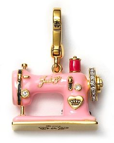 Oh I love this! Sewing machine charm. $58