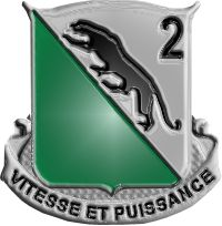 2nd Battalion, 69th Armor Regiment distinctive unit insignia