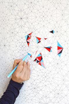 papier peint à colorier soi-même : Décorations murales par kidivist