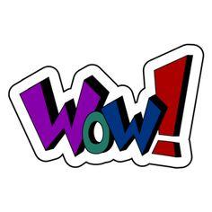12 best wow images on pinterest free clipart images comic book rh pinterest com wow word clip art pow wow clip art