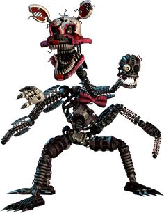 Nightmare Mangle now this is cool and creepy at the same time which is awesome