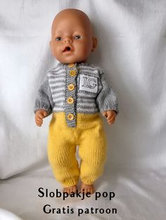 Doll Shoe Patterns, Clothing Patterns, Knitted Owl, Knit Crochet, Knitting Dolls Clothes, Baby Born, Baby Knitting Patterns, Baby Sewing, Kids And Parenting