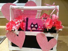 Valentines Day front door wreath...