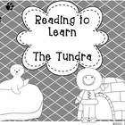 """This booklet includes a nonfiction passage about the Tundra, common core activities and think marks poster for nonfiction text.  This """"Reading to L..."""