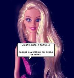 19 sinceridades que a Barbie falou por você Top Memes, Best Memes, Funny Memes, Barbie Funny, Barbie Humor, Sarah Andersen, Allison Williams, Name Calling, Stress