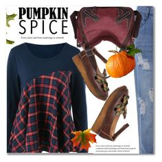 """Pumpkin Spice Style"" by svijetlana ❤ liked on Polyvore featuring polyvoreeditorial, pss and twinkledeals"