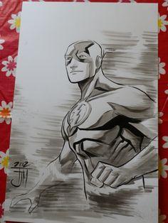Flash Commission by Francis Manapul Comic Art