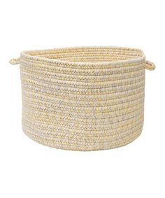 Take a look at this Sun-Soaked Catalina Utility Basket by Colonial Mills on #zulily today!