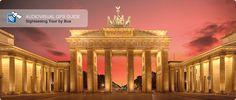 Brandenburg Gate by night