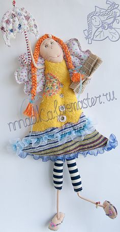 Курортная - море,солнце,курорт,пляж,кукла,текстильная кукла,тряпичная кукла