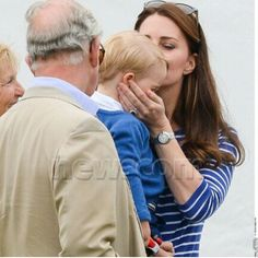 Prince Charles, Kate and George at Beaufort Polo Club, June 14, 2015