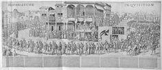 Scène d'Inquisition en Espagne 1560 ... Anonymous