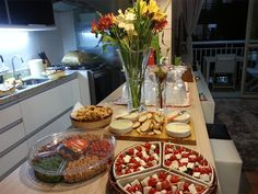 Open House Parties, House Party, Appetizers For A Crowd, Food For A Crowd, Marine Cake, Food Platters, Romantic Dinners, Food Presentation, Catering