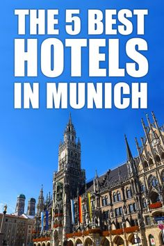 The 5 best hoteals near Marienplatz in Munich. Budget or luxur - find out the best hotels in the city center of Munich. Explore Bavaria's capital and the heart of Germany. Click for more information