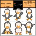 Meet Pedro the penguin and his penguin buddies. They are very excited about winter and love to dance and play about in the ice and snow!  This set ...