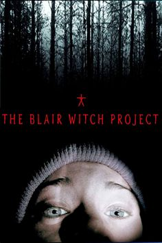 """""""The Blair Witch Project"""" - Three film students vanish after traveling into a Maryland forest to film a documentary on the local Blair Witch legend, leaving only their footage behind. One of the first found-footage horror movies I've seen. The Blair Witch Project, Best Horror Movies, Scary Movies, Good Movies, Movies Free, Comedy Movies, Movie List, I Movie, Movie Blog"""