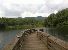 Asheville - Lake Powhatan Fishing Pier