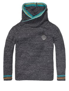 Pull With Special Twisted Hood > Kids Clothing > Boys > Pullovers at Scotch Shrunk