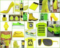 Modacılar güneşin parlaklığından ve yemyeşil çimlere vuran ışığından mı etkilenmiş bilinmez2012 İlkbahar / Yaz Modasının öne çıkan renkleri neon sarı ve yeşil…