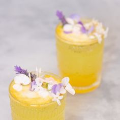 Spring = happiness 🐝 Had fun with turmeric and lavender and Lìmon 🍋 Have a delicious weekend! Reposted from Virgin Cocktails, Non Alcoholic Cocktails, Turmeric, Cocktail Recipes, Vermont, Lavender, Pudding, Happiness, Spring
