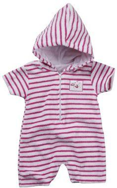 Kissy Kissy Ocean Amigos Terry Hooded Beach Romper – Pink « Clothing Impulse