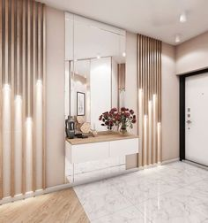 Apartment Interior, Interior Design, Luxury Living Room, Home Room Design, Living Room Partition Design, Home Entrance Decor, Hallway Designs, Gold Living Room Decor, Apartment Interior Design